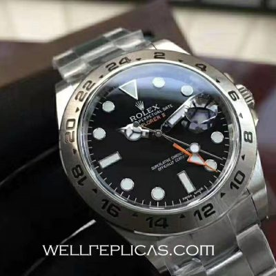 Rolex Explorer II 216570 42mm Case Black Dial Equipped with the original 3187 movement
