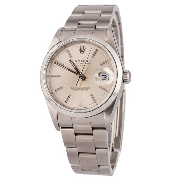 Replica Rolex Watches Rolex Date 15200 Silver Dial Watch
