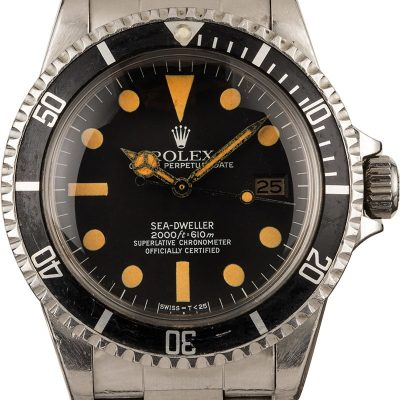 Fake Gold Watches Vintage 1981 Rolex 1665 Sea-dweller