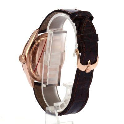 Replica Diamond Rolex Cellini 50505 Everose Gold
