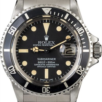 Swiss Replica Watches Vintage 1978 Rolex Submariner 1680 Feet First