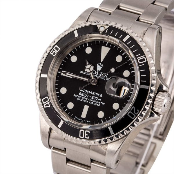 Watch Replicas Online Free Vintage 1978 Rolex 1680 Submariner