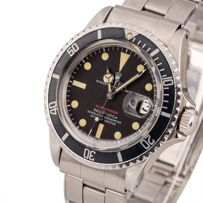 How To Spot Fake Rolex Vintage 1970 Rolex Red Submariner 1680 Feet First