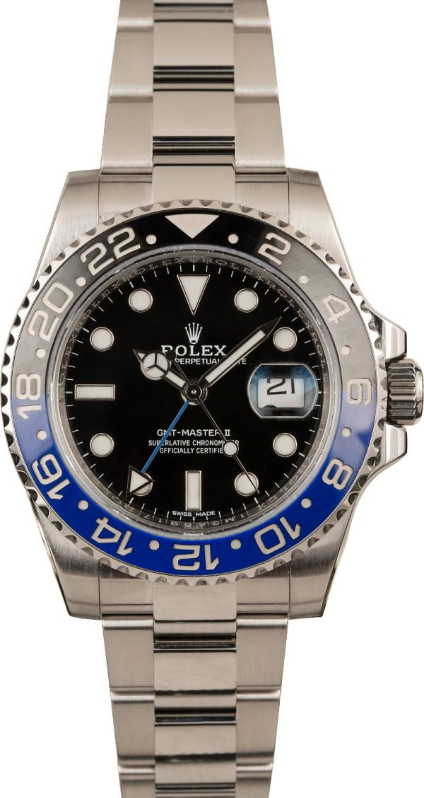 Replica Watches Rolex 116710 Gmt-master Ii Batman