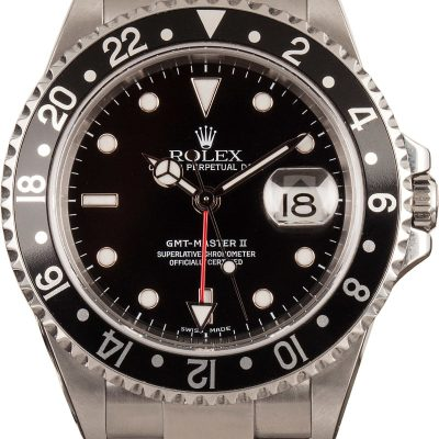 Best Fake Watchesgmt-master Ii Rolex 16710 Black Bezel