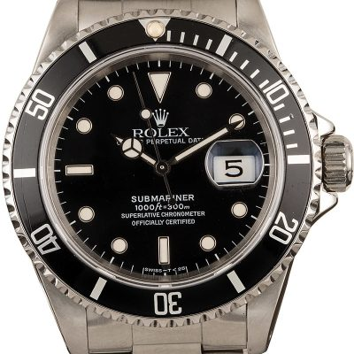 The Best Replica Watches In The World 40mm Rolex Submariner 16610 Timing Bezel