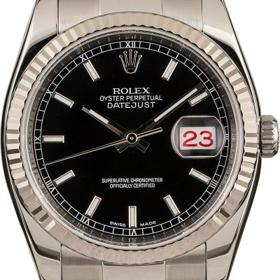 Real Rolex Vs Fakemen's Rolex Datejust 116234