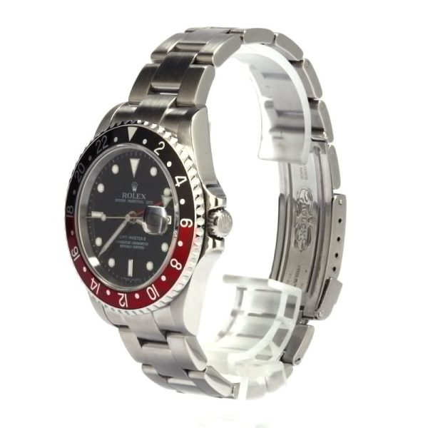 Rolex Replicas Swiss Made Rolex 16710 'coke' Gmt Master Ii