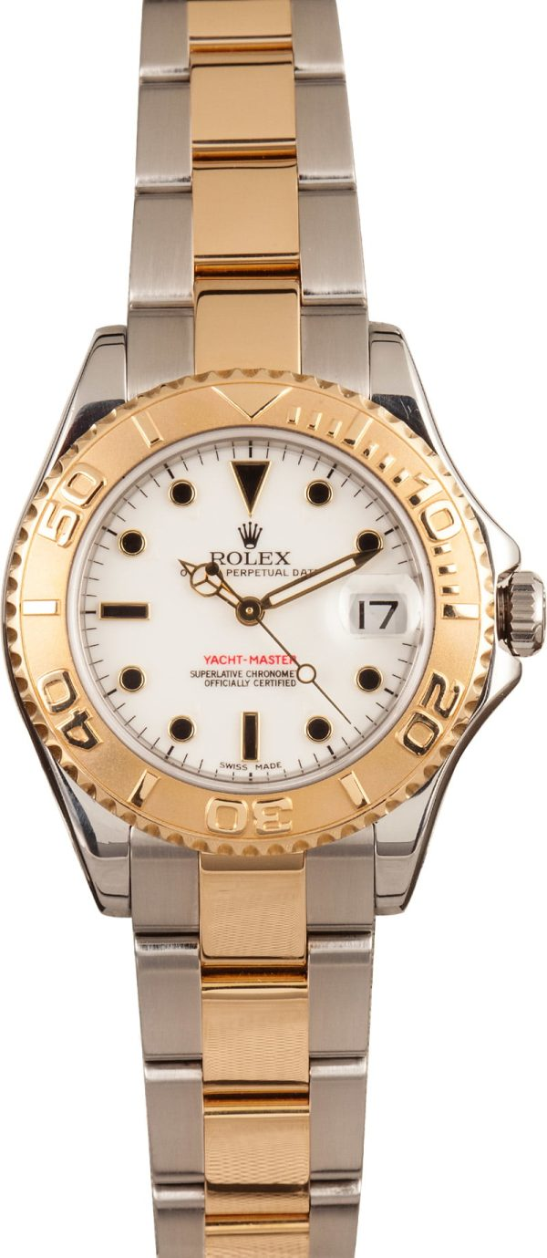 Best Replica Watches Reviewrolex Yacht-master 168623 White Dial
