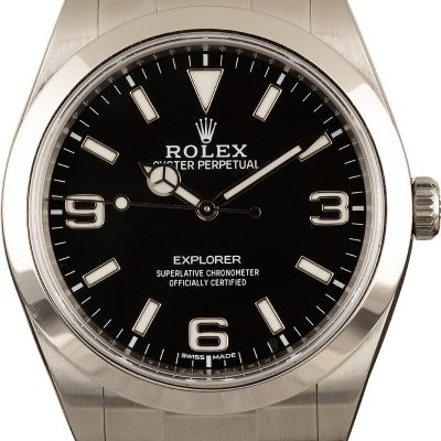 Fake Rolex For Salerolex Explorer 214270 Men's Watch