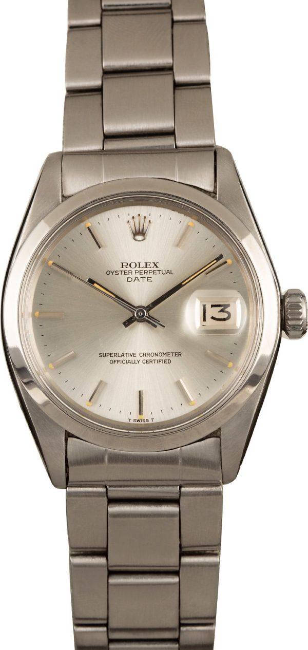 Rolex Replicas For Sale Rolex Date 1500 Silver Dial Watch