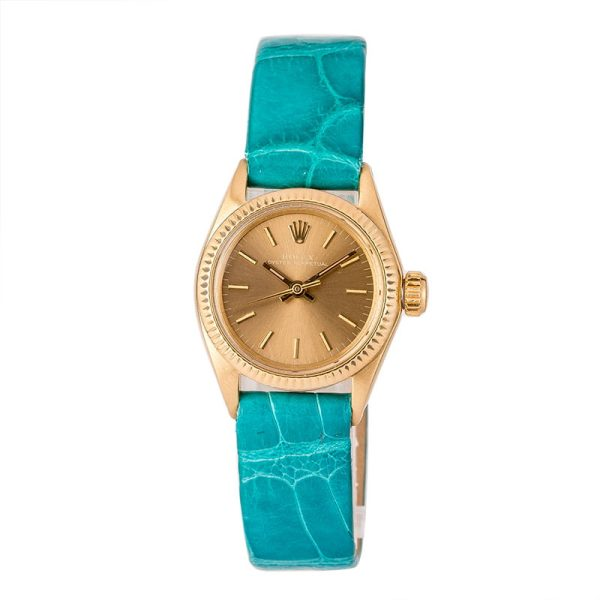 Best Replica Watchespre Owned Rolex Ladies Oyster Perpetual 6915