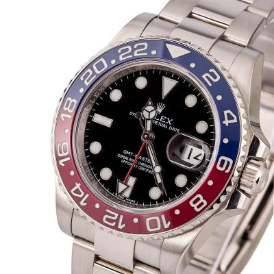 Rolex Presidential Replicarolex Gmt- Master Ii 116719 White Gold Pepsi