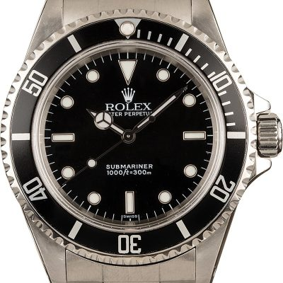 Swiss Replica Watchesrolex Submariner No Date Ref 14060
