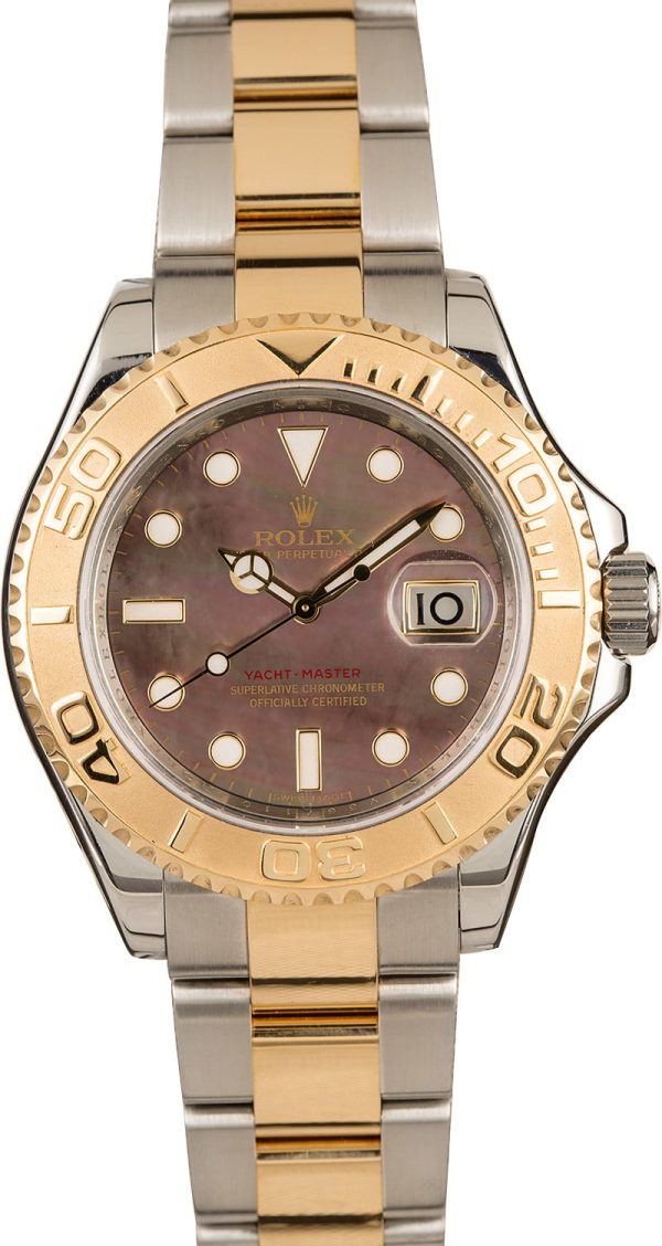 Cheap Replica Watches Rolex Yacht-master 16623 Black Mother Of Pearl Dial