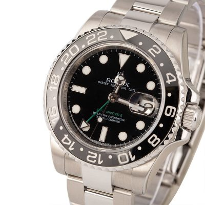 Replica Luxury Watches 40mm Rolex 116710 Gmt-master Ii