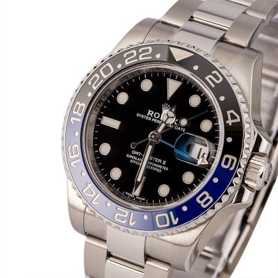 Fake Rolex Watch Rolex Batman Gmt-master Ii Ref 116710