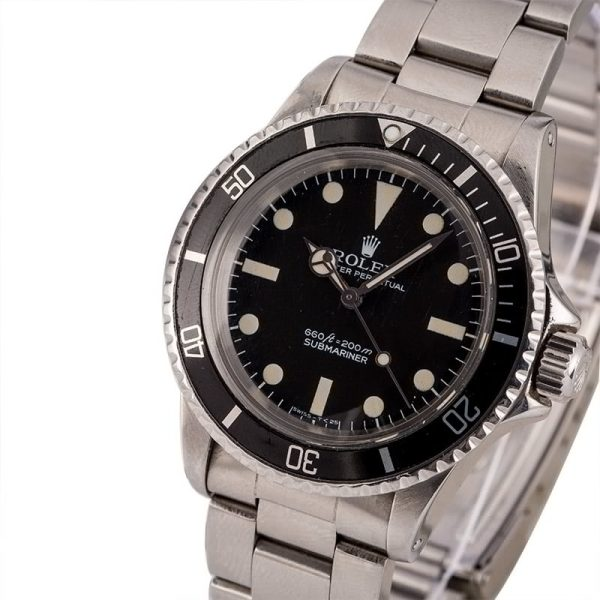 Best Replica Watches Vintage 1977 Rolex Submariner 5513 Stainless Steel