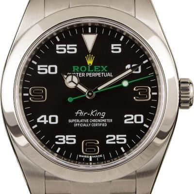 Rolex Copy Rolex Air-king 116900 Black Dial 40mm