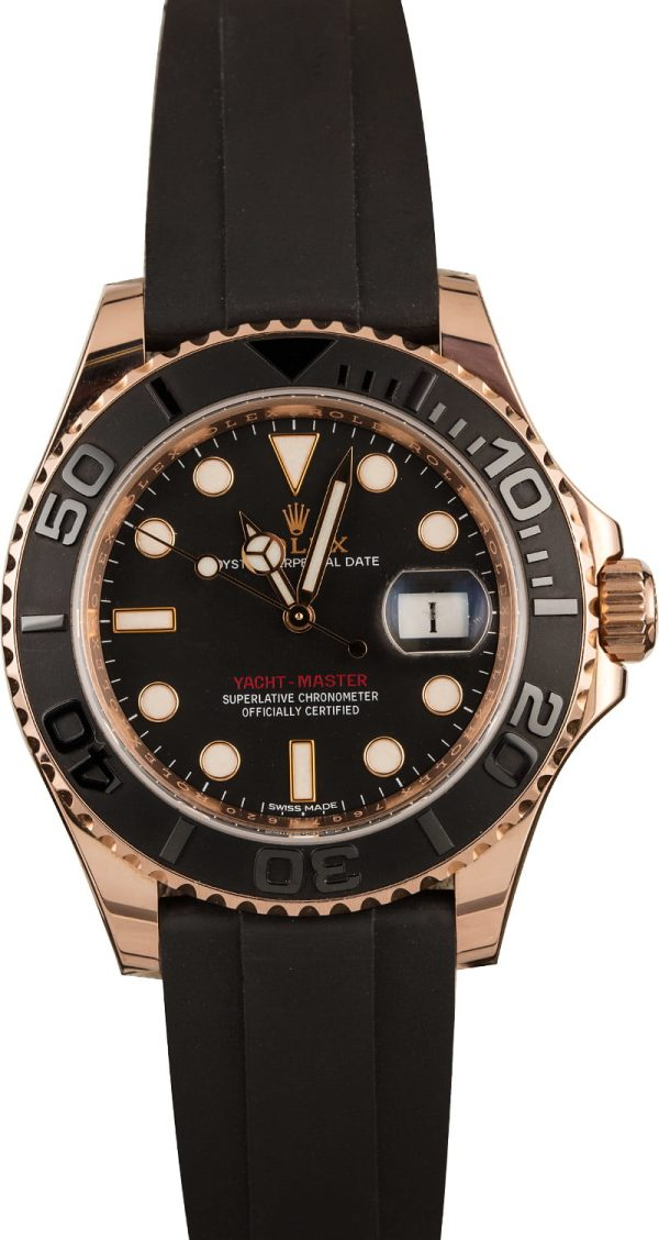 Rolex Replica Watches 40mm Rolex Yacht-master 116655 Ceramic Bezel