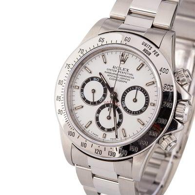Top 10 Replica Watch Sites Rolex Zenith Daytona 16520 White Dial