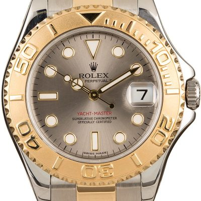 Reputable Replica Watch Sitesrolex Mid-size Yacht Master 168623 Slate Dial