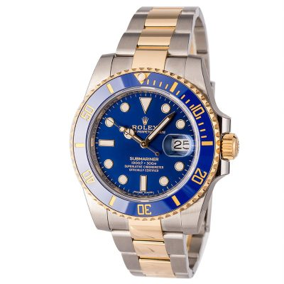 Replica Watches For Salemens Rolex Ceramic Submariner 116613 Two Tone