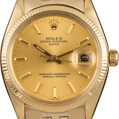 Reputable Replica Watch Sites Rolex Date 1503 Champagne Dial Watch