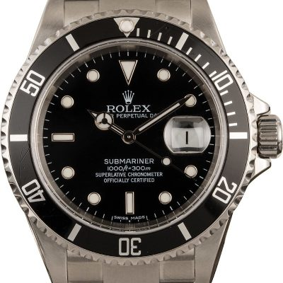 Top 10 Replica Watch Sites Rolex 40mm Submariner 16610 Black Insert