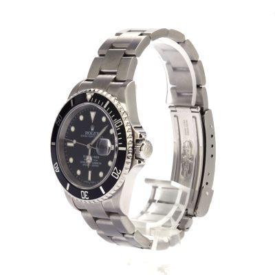 Top 10 Replica Watch Sites Rolex 40mm Submariner 16610 Black Insert