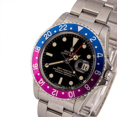 Best Men Replica Automatic 1570 Rolex Gmt-master 1675 Pepsi Bezel