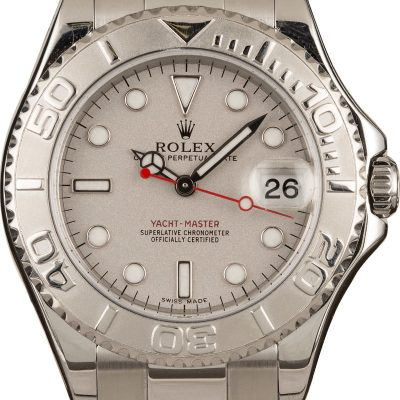Oysterlock Clasp Rolex Yacht-master 168622 Replica Mid-size Watch