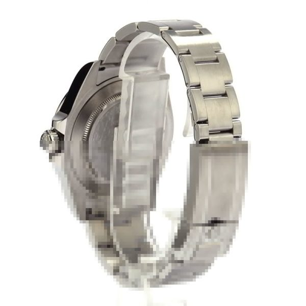 Men Stainless Steel Replica Rolex Explorer Ii 216570 Oysterlock Clasp