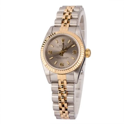 Automatic 2230 Ladies Rolex Oyster Perpetual 76193 Stainless Steel