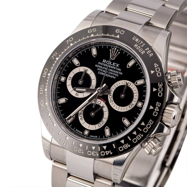 Automatic 4130 Men Fake Rolex Daytona 116500 Case 40mm Stainless Steel