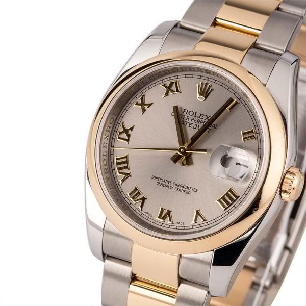 Automatic 3135 Men Fake Rolex Datejust 116203 Case 36mm Stainless Steel