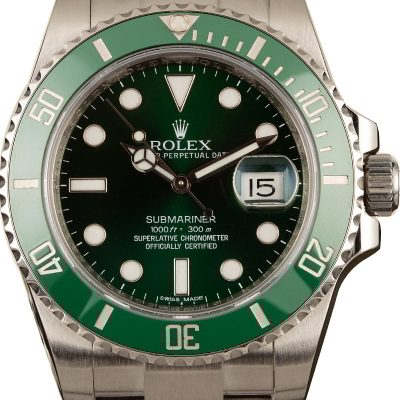 Men Case 40mm Fake Rolex Submariner 116610lv 904l Stainless Steel