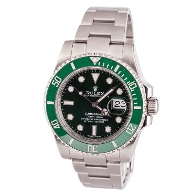 Case 40mm Replica Rolex Hulk Submariner 116610lv Dial Green Automatic 3175