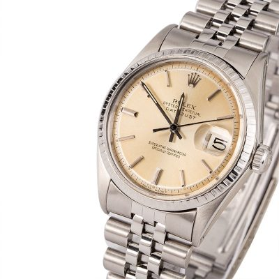 Automatic 1570 Men Replica Rolex Datejust 1603 Case 36mm Stainless Steel