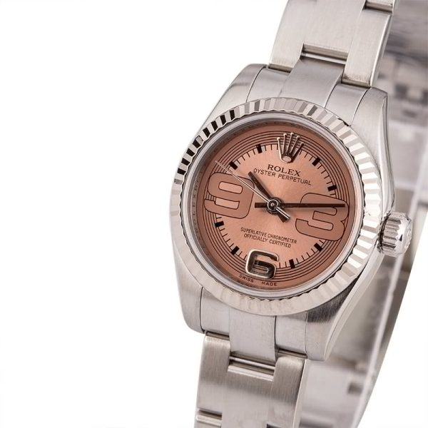 Dial Pink Replica Rolex Ladies Oyster Perpetual 176234 Automatic 2231