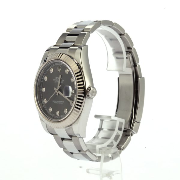 Automatic 3136 Men Replica Rolex Datejust 116334 904l Stainless Steel