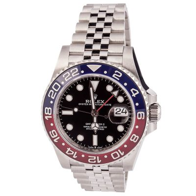 Men Case 40mm Fake Rolex Gmt-master Ii - 126710blro Dial Black Automatic 3285