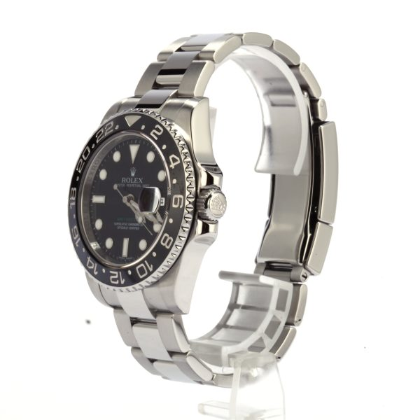 Case 40mm Men Replica Rolex Gmt-master Ii - 116710ln Dial Black Automatic 3186