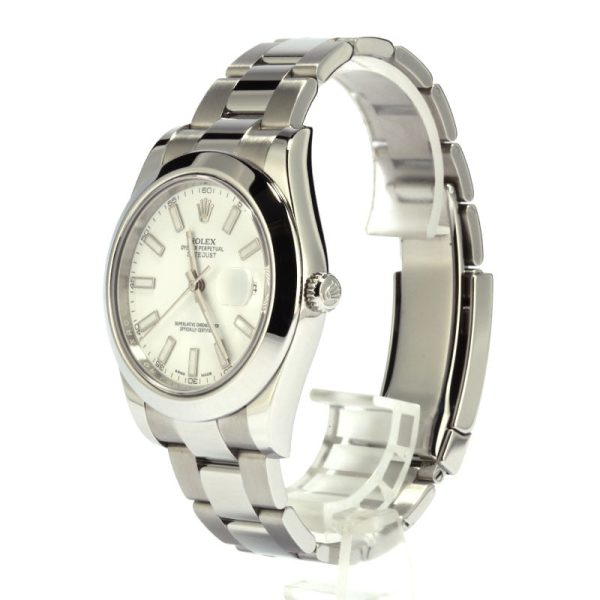 Automatic 3136 Men Replica Rolex 116300 Datejust Ii Dial White Stainless Steel