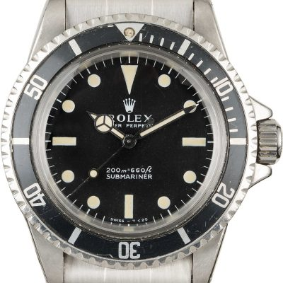 Rolex Submariner 5513 Automatic 1520 Men's Watch