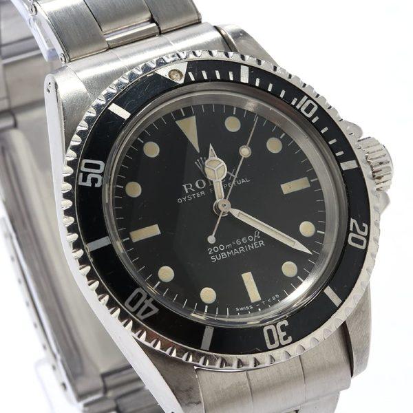 Rolex Submariner 5513 Automatic 1520 Men's Watch
