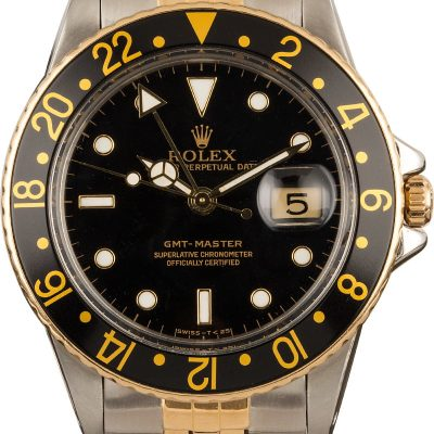 Rolex Gmt-Master 16753 Automatic 3075 Men's watch
