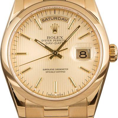 Rolex President 118208 Automatic 3155 Men's Watch