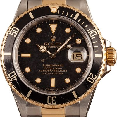 Rolex Submariner 16803 Replica Dial Black Automatic 3035 Watches