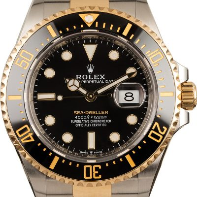 Rolex Sea-dweller 126603 Replica Men's Case 43mm 904l Stainless Steel